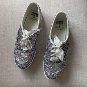 caf0ae31bd81 Kate Spade X Keds New York Champion Glitter shoe